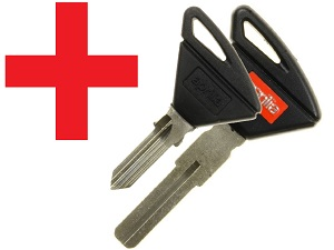Reprogram / copy Aprilia transponder chip key