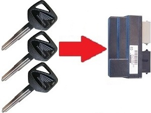 HONDA HISS KEY : Carmo Electronics, The place for parts or