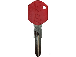 KTM red chip key