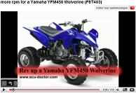 Yamaha YFM450 Wolverine YouTube film